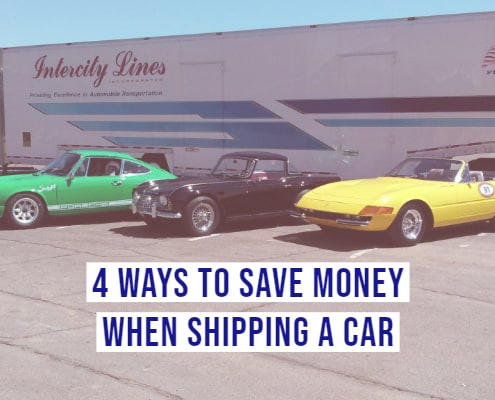 4 Ways to Save Money when Shipping a Car