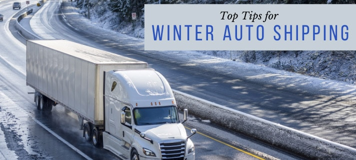 Top Tips for Winter Auto Shipping