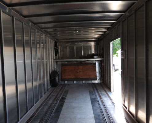 front interior gold rush trailer for sale