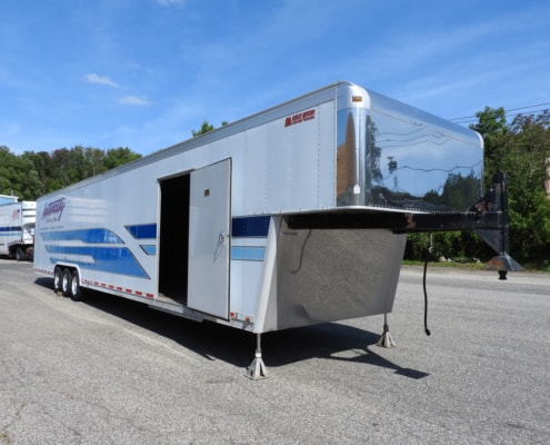 door of gold rush 2 car trailer for sale