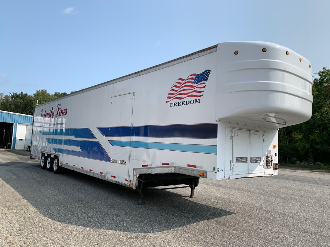 1996 kentucky enclosed 6 car hauler for sale
