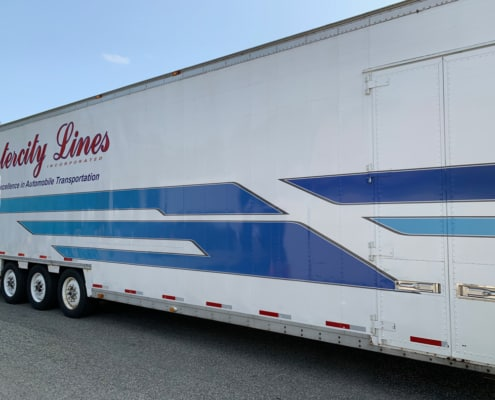 96 kentucky enclosed car hauler for sale