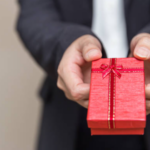 employee gift that is red