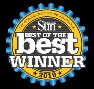 Best of the Best Winner Gainesville