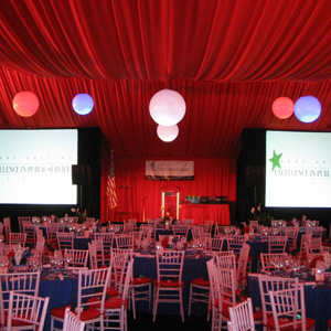 Tented Political Party | The Event Group