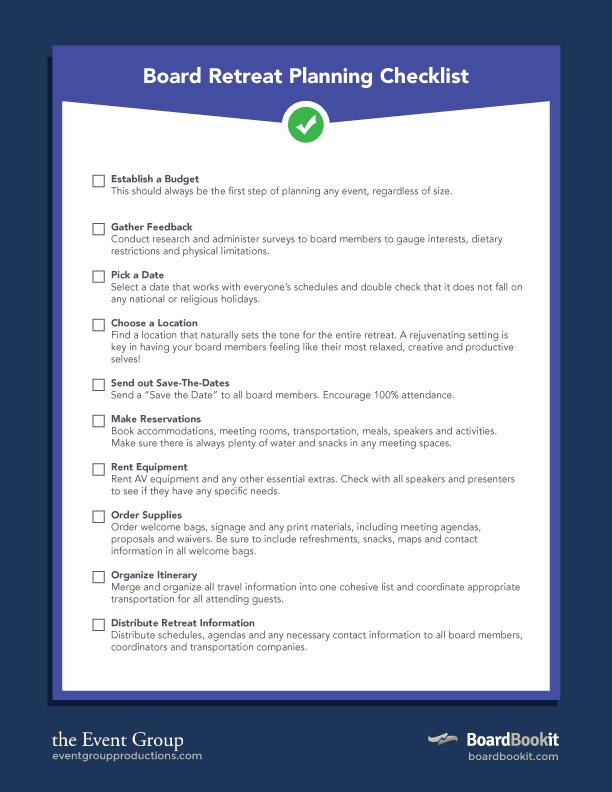 retreat-checklist