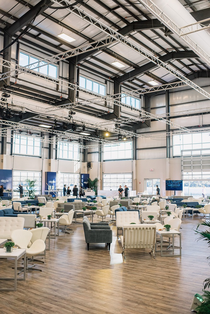 Shipyard Meeting and Lunch | The Event Group | TimWillPhotography | Charleston, South Carolina