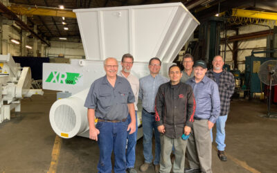 Cresswood designs and builds a brand new industrial shredder, the XR-500