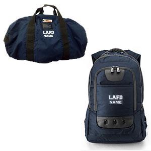 lafd duffel bag backpack