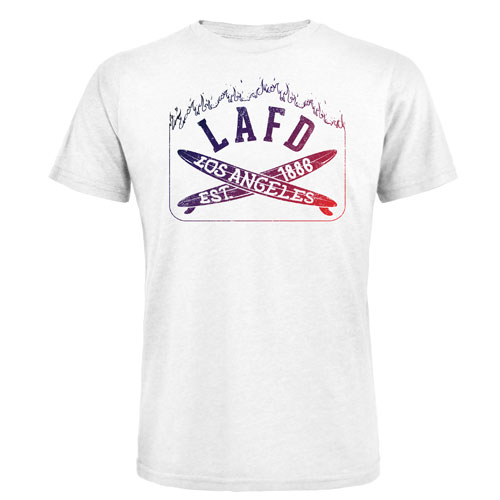 LAFD Los Angeles Surf T-Shirt