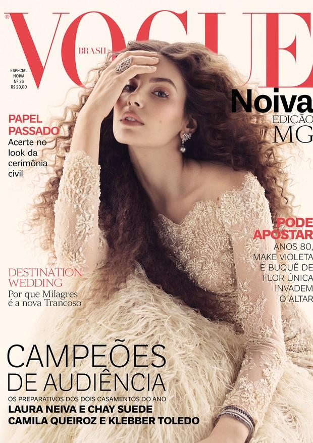 Camila Queiroz vogue noiva 2018