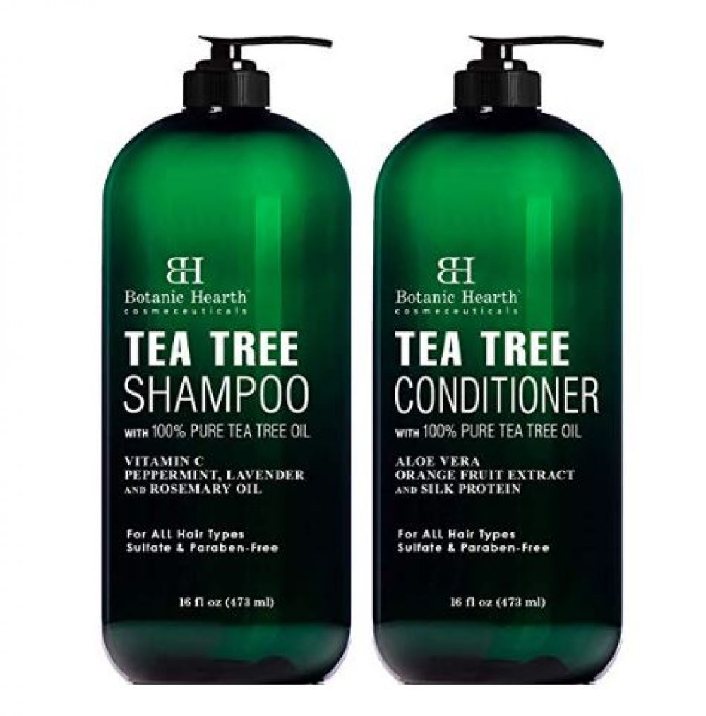 Botanic Hearth Tea Tree Shampoo and Conditioner