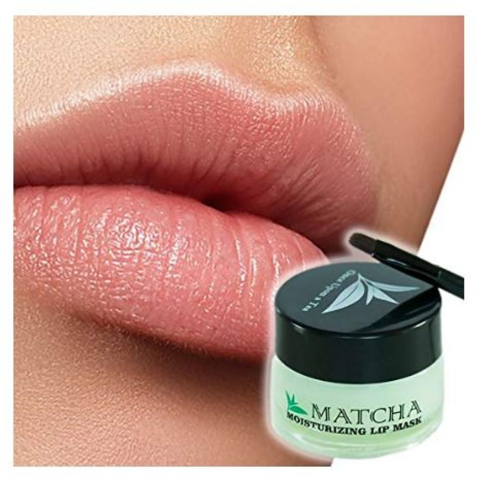 Moisturizing Green Tea Matcha Sleeping Lip Mask Balm