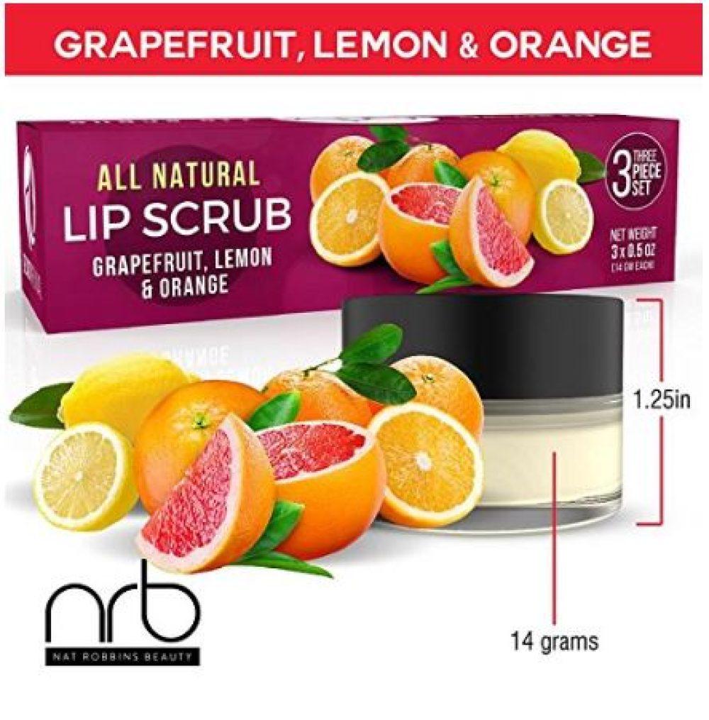 All natural lip scrub