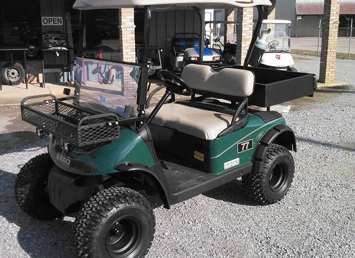 E-Z-GO Hunting Golf Cart