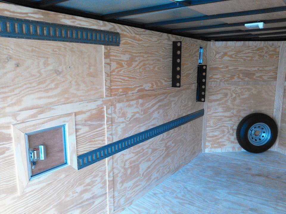 7x18 CUSTOM LAWN CARE TRAILER WITH EXTRAS