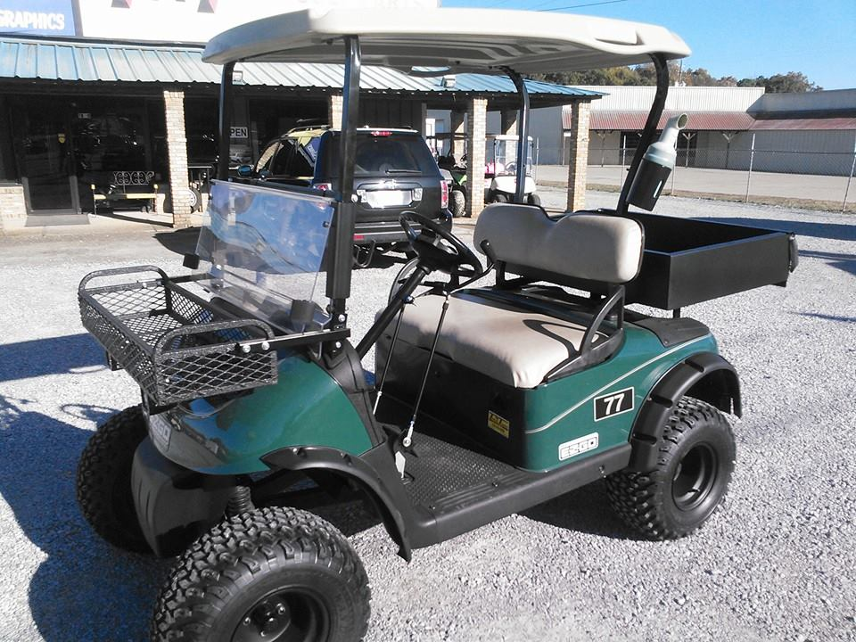 E-Z-GO Golf Cart with Hand Controls