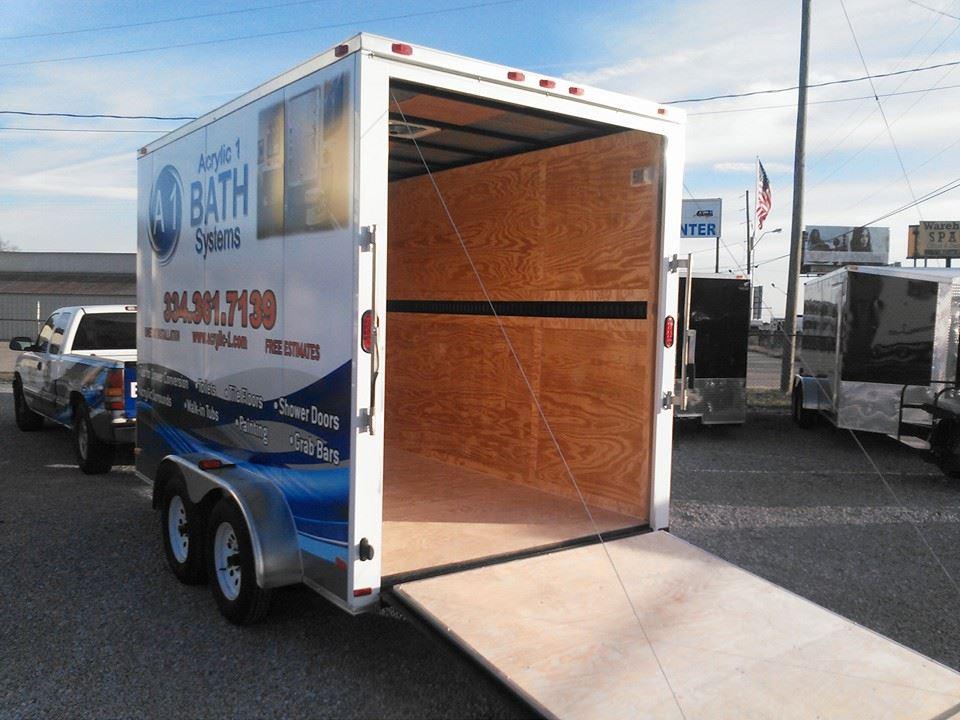 custom trailers montgomery al