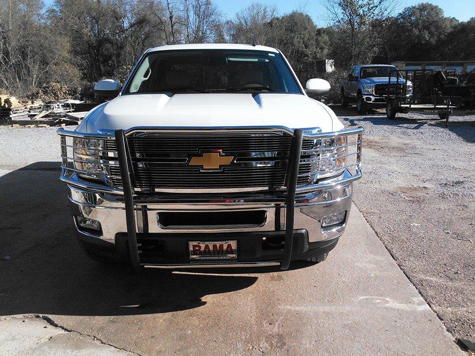 Chevy steel grill guard - truck accessories Montgomery AL