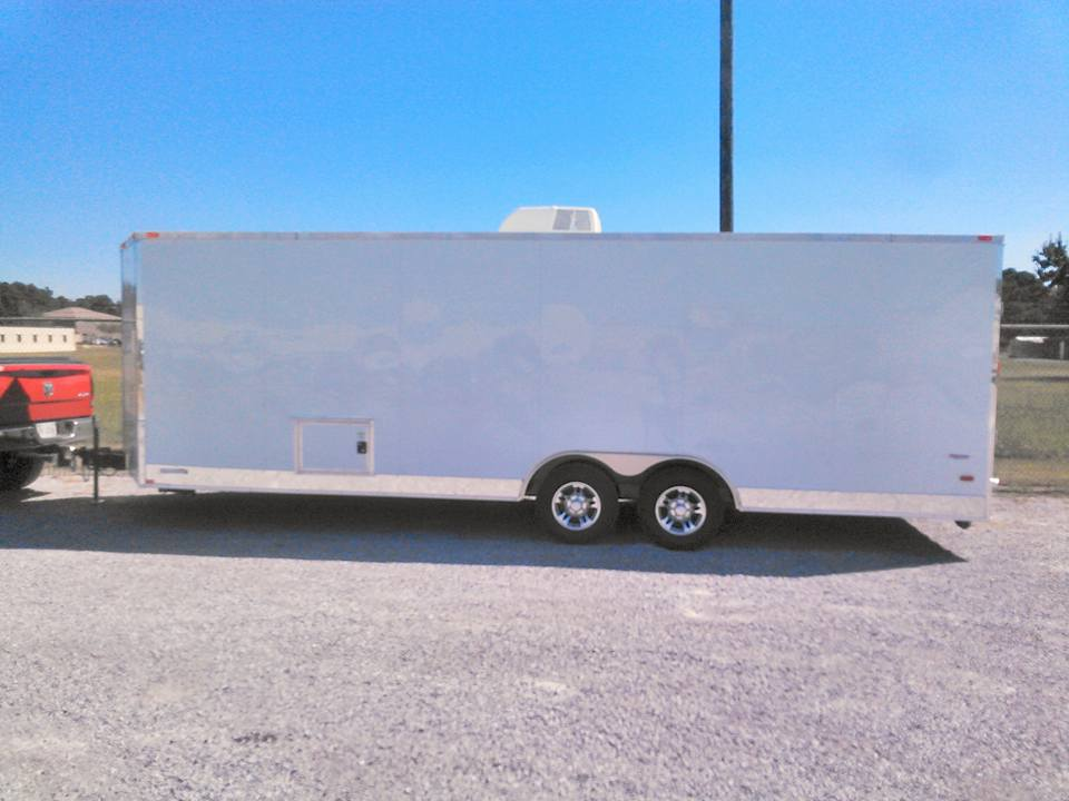 EXTRA LONG ENCLOSED TRAILER