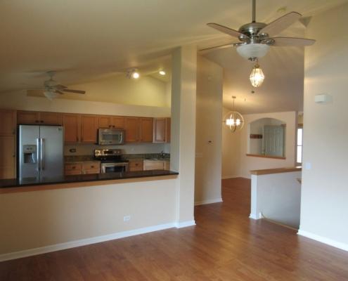 Kitchen, Living, Dining, Oakwood Drive Fox Lake, IL