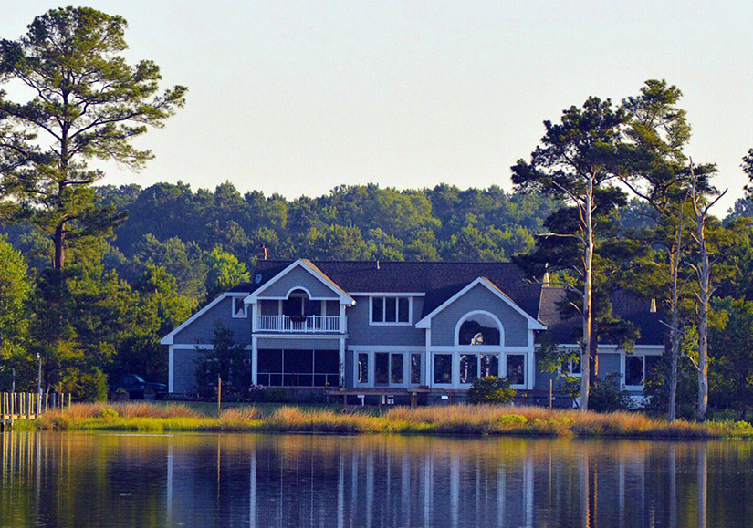 Lake House - View From Water