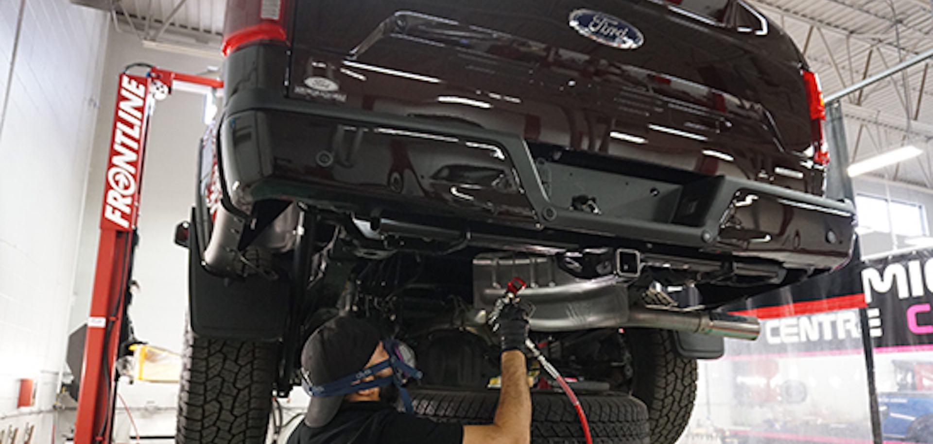prevent rust under car