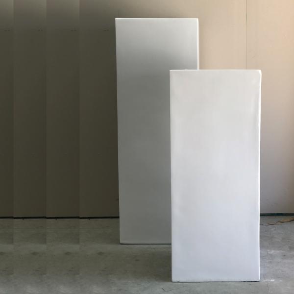 white-plinths