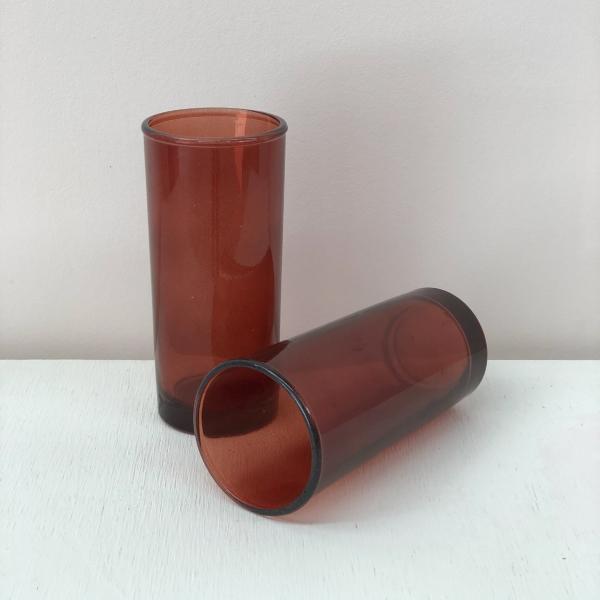 Amber-Bud-Vases