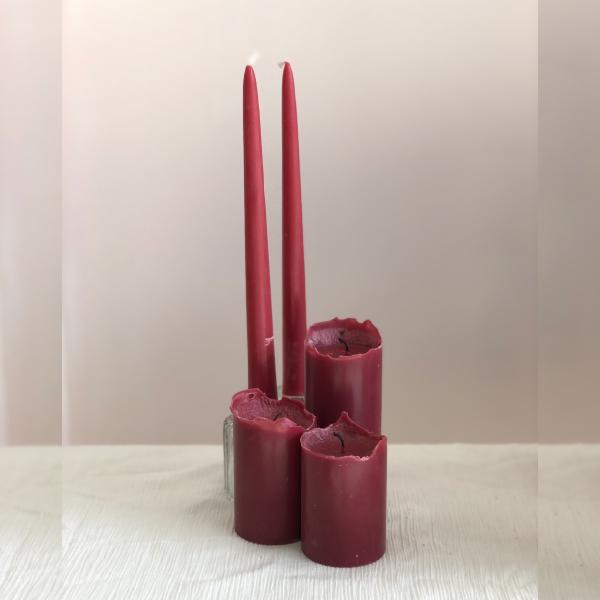 Candles-Dark-Pink