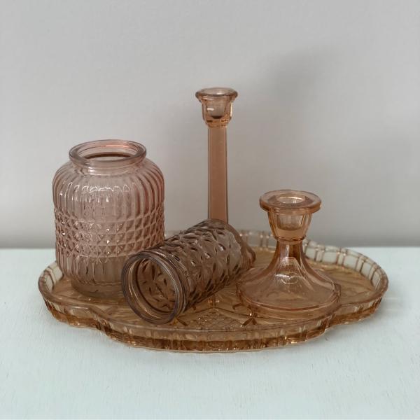 Rose-Glassware