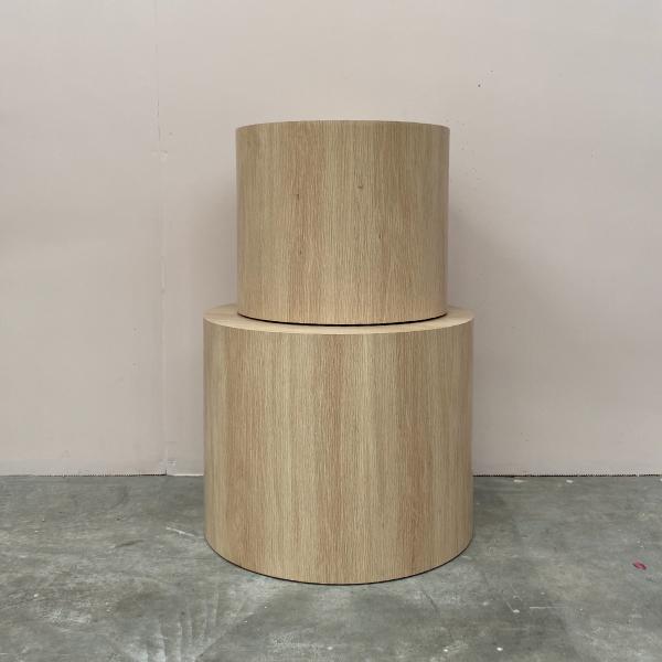 Round-Wood-Plinths