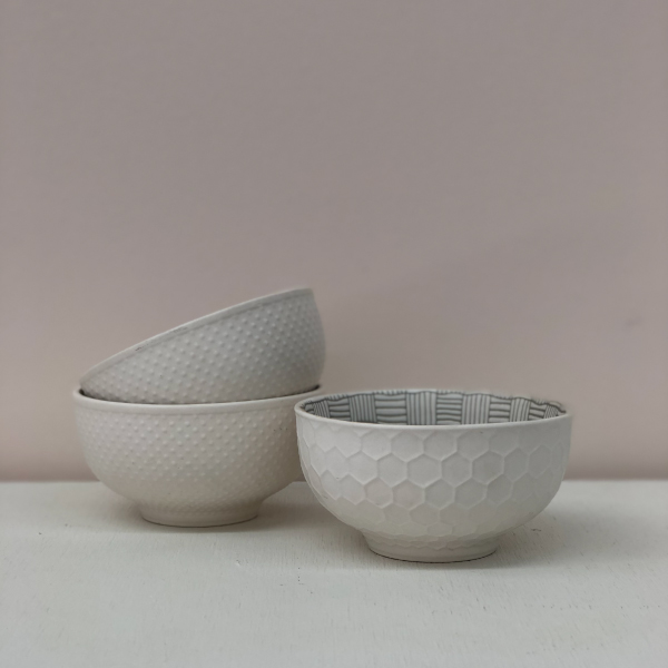 White-Patterned-Bowls