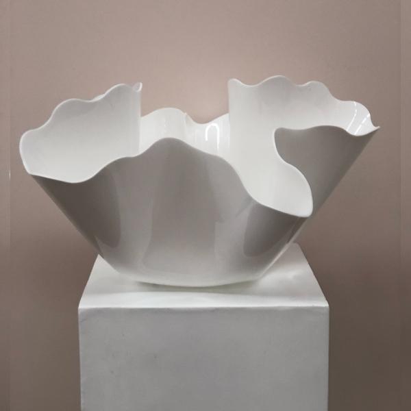 White-Vase-Large