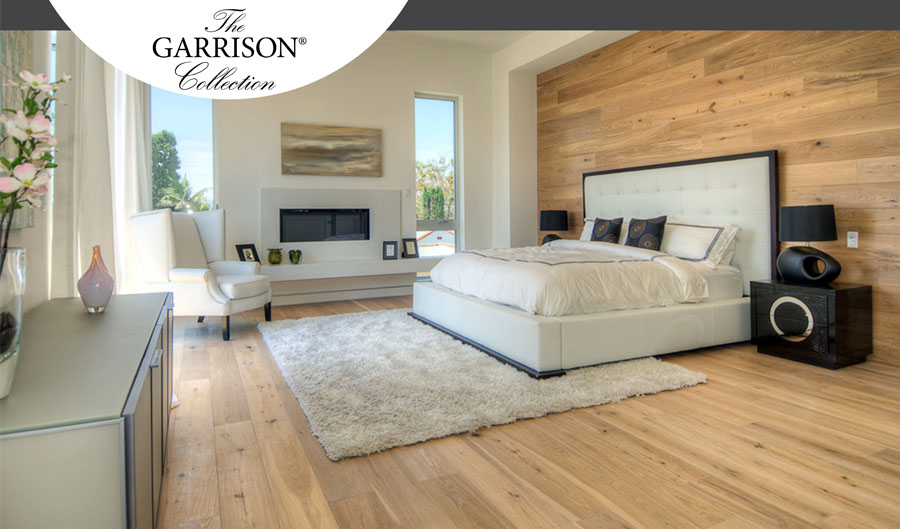 the Garrison Collection Hardwood Flooring