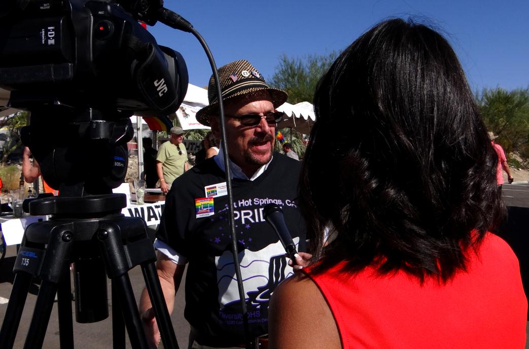 KESQ Television Interviews DiversityDHS then-president Sam Messler