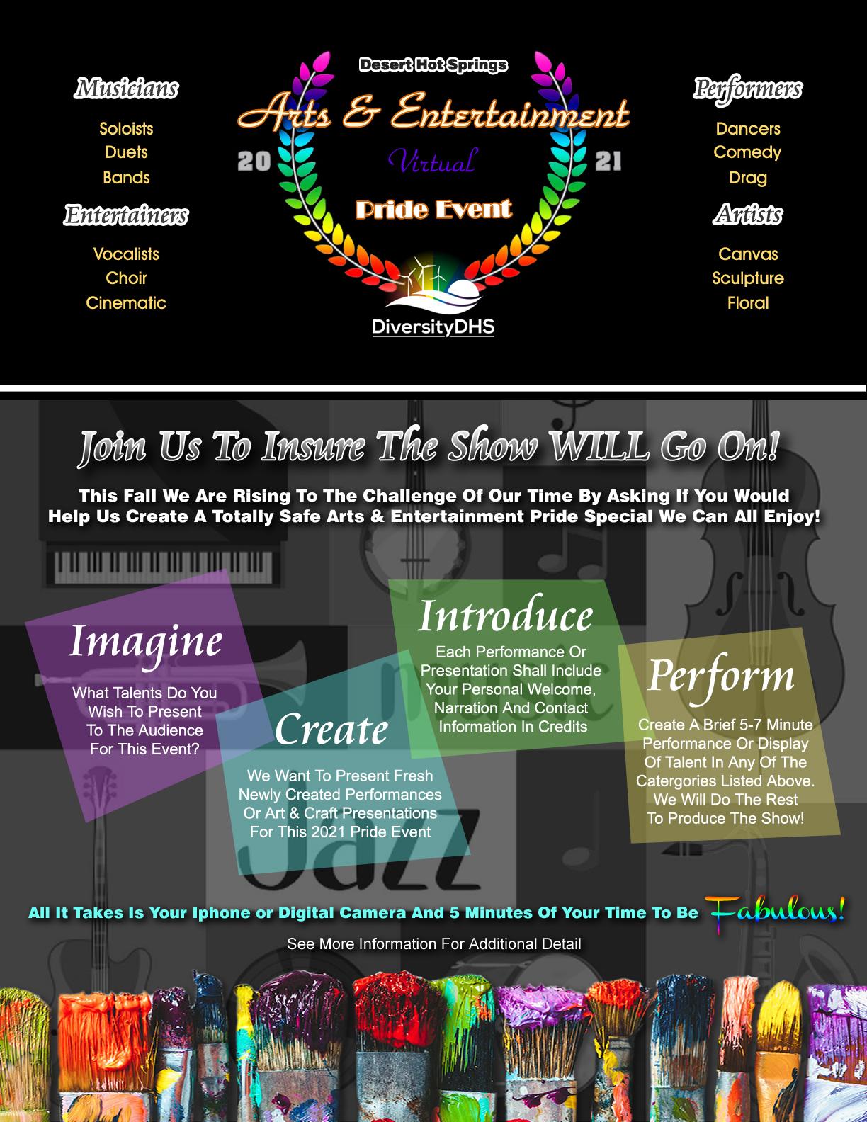 DiversityDHS Arts & Entertainment 2021 Pride Event
