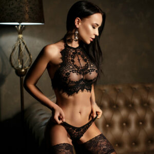ULC Madrid 2 Piece Lace Lingerie Set