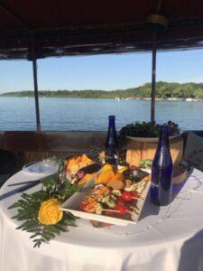 boat cruise - engagement