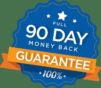 90 Day money back gurantee