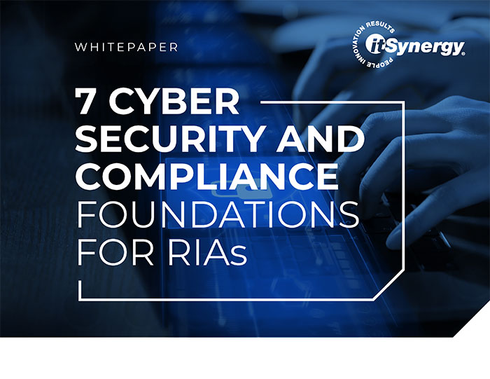 7 cyber security foundations