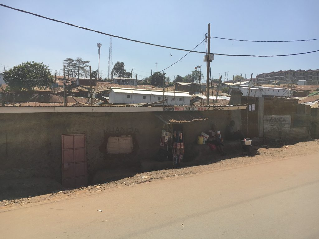 The Kibera community