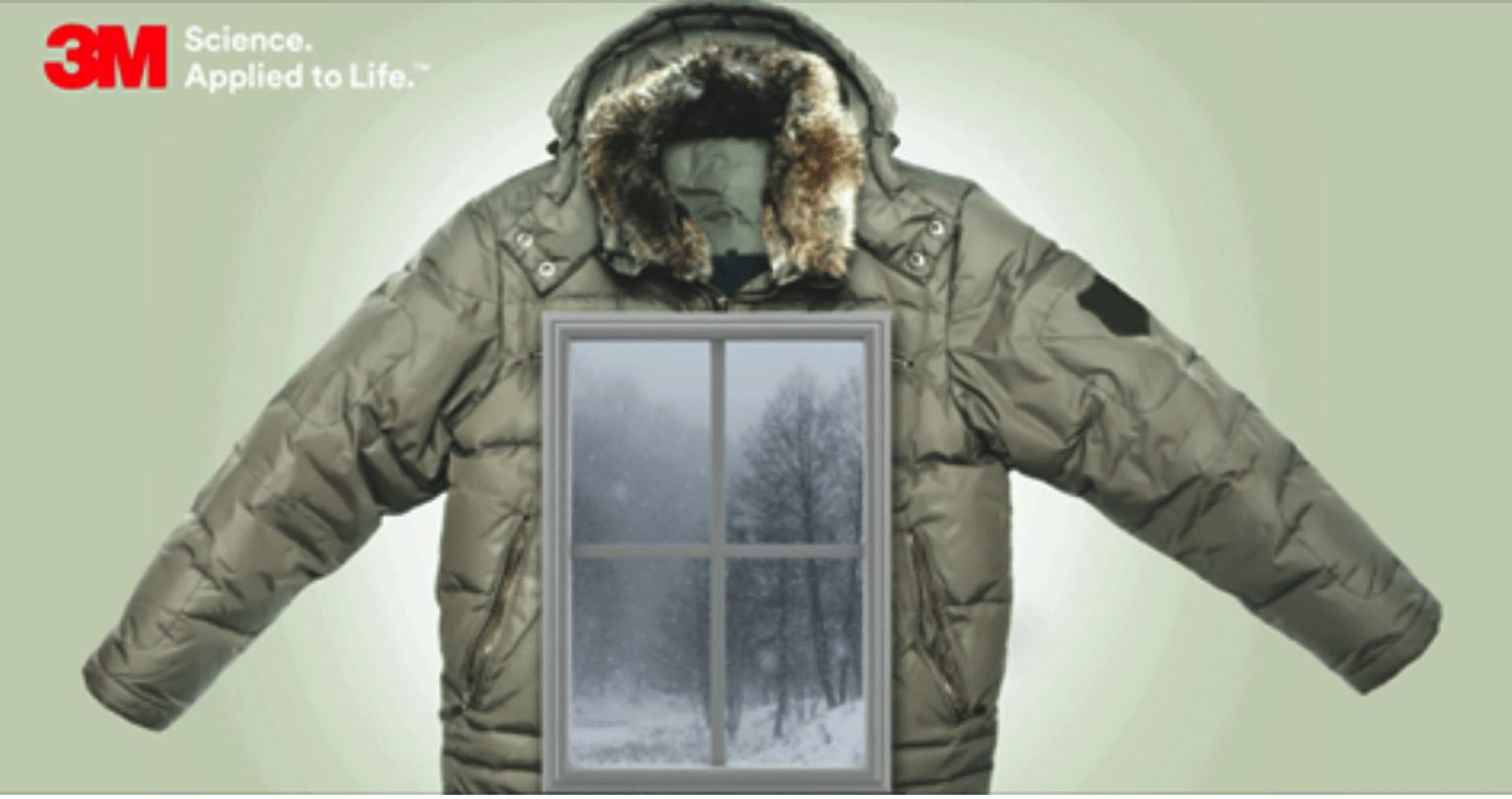 3M Insulating Window Film – A Winter Jacket for Inefficient Windows