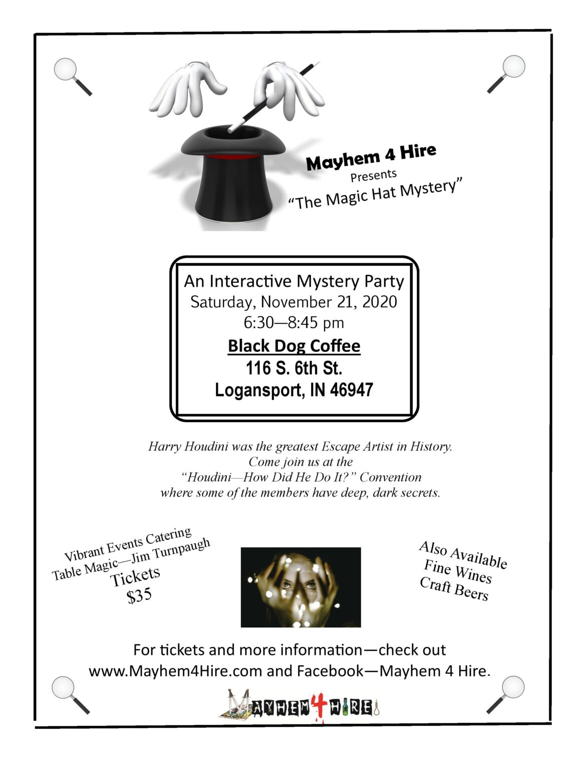 """""""Murder"""" was the Blog- New!! """"The Magic Hat Mystery""""!!"""
