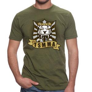 T-Shirt Design Beazie the Artist Tigear TSMMA Tiger Schulmanns