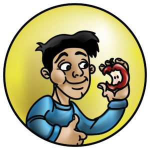 Beazie the Artist Health Logo Design