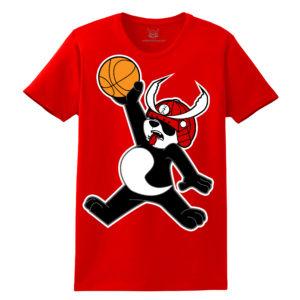 T-Shirt Design Panda Jumpman Beazie the Artist United Soul Apparel
