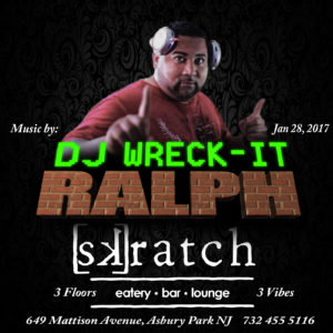 Flyer Design Social Media Facebook & Instagram Beazie the Artist Dj Wreck it Ralph