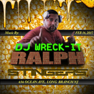 Beazie the Artist Flyer Design Social Mdeia Facebook & Instagram Dj Wreck it Ralph