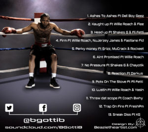 Beazie The Artist B Gotti B Album Art